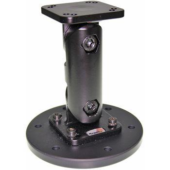 Brodit montážní podstavec 124mm, včetně podstavce s průměrem 100mm, hliník/plast, (215563)