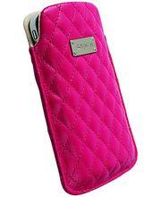 Krusell pouzdro Avenyn XXL - Ascend G300,Samsung Galaxy S II,Nokia 808,Xperia P 69x125x14 mm(růžová)