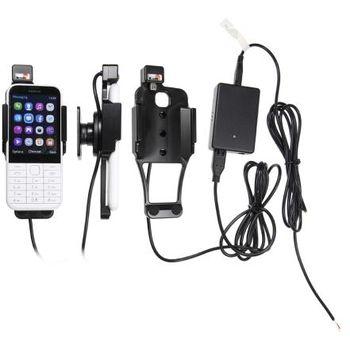 Brodit držák do auta Nokia 225 bez pouzdra, se skrytým nabíjením