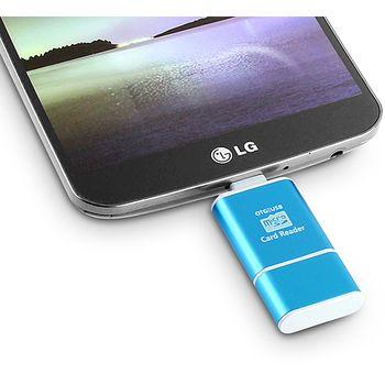 Brando čtečka microSD karet na microUSB s funkcí USB OTG