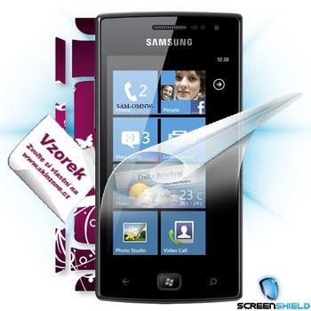 Fólie ScreenShield Samsung Omnia W ochrana displeje-displej+voucher na skin