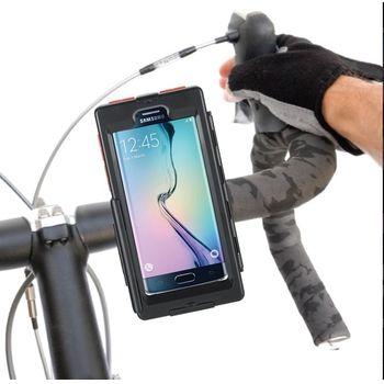 Držák BikeConsole na Samsung Galaxy S7 edge na kolo nebo motorku na řídítka