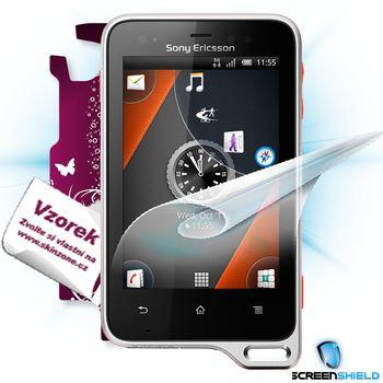 Fólie ScreenShield SonyEricsson Xperia Active ochrana displeje-displej+voucher na skin