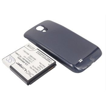 Baterie pro Samsung Galaxy S4 (i9505), rozšířená včetně černého krytu, 5200mAh, Li-ion + univerzální nabíječka baterií