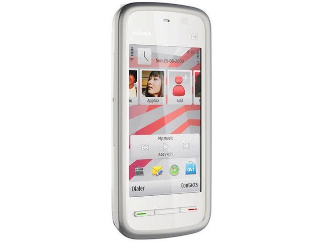 obsah balení Nokia 5230 White Pink + Nabíjecí sada na kolo Nokia