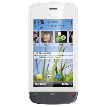 Nokia C5-03 White Aluminium Grey - rozbaleno, plná záruka