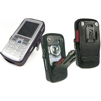 Krusell pouzdro Classic - Sony Ericsson W800i/W700i - černá/oranž