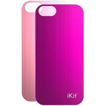 iKit Nucharge 2ks krytu k záložní baterii pro iPhone 5/5S, růžový a fialový