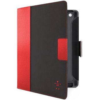 Belkin iPad 3 pouzdro Cinema Folio, černé/červené (F8N772cwC01)