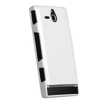 Krusell hard case - ColorCover - Sony Xperia U (bílá)