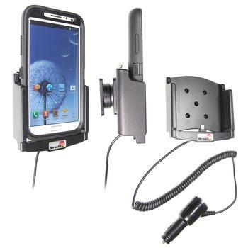 Brodit držák do auta pro Samsung Galaxy Note II v pouzdru Otterbox Defender s nabíjením z cig. zapal