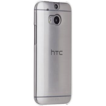 Case Mate ochranné pouzdro Barely There pro HTC One M8, transparentní