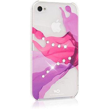 White Diamonds kryt Liquids pro Apple iPhone 4/4S - růžová