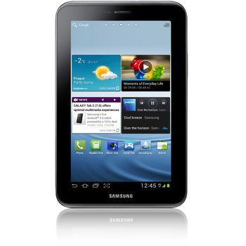 Samsung GALAXY Tab 2 7.0 Wi-Fi 16 GB + dobíjecí a synchronizační kolébka Kidigi
