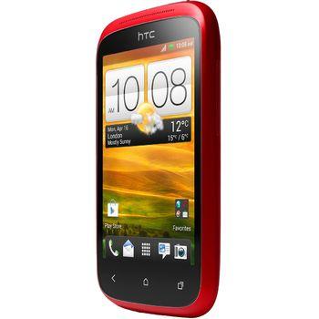 HTC Desire C červená + solární nabíječka Solarmonkey-Adventurer
