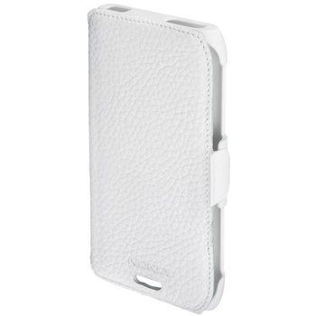 Nokia CP-501 kožené pouzdro pro Nokia E7 bílé
