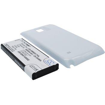 Baterie pro Samsung Galaxy Note 4 rozšířená včetně zadního krytu bílá, Li-Ion, 6400 mAh