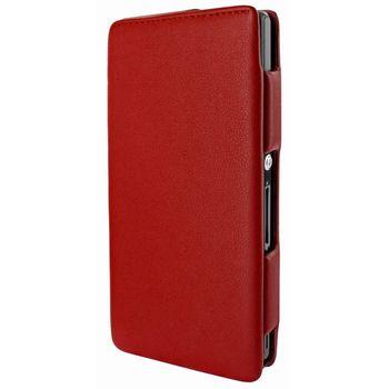 Piel Frama pouzdro pro Sony Xperia Z iMagnum, Red