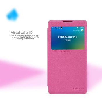 Nillkin Sparkle S-View Pouzdro Pink pro Lenovo P90