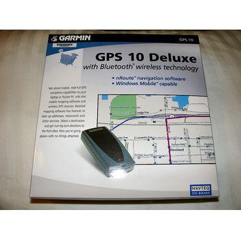 vyhodit Garmin GPS 10 Deluxe Bluetooth GPS přijímač, doprodej