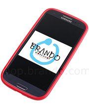 Pouzdro měkké plastové Brando - Samsung Galaxy S III i9300 (červená)