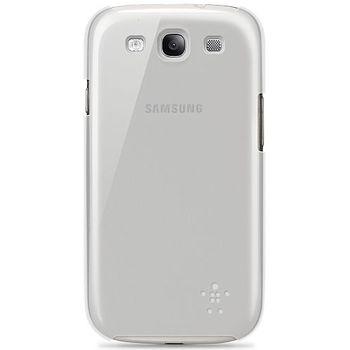Belkin Shield Sheer pevné plastové pouzdro pro Samsung Galaxy S III, průhledné (F8M403cwC01)