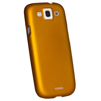 Krusell hard case - ColorCover - Samsung i9300 Galaxy S III  (oranžová)