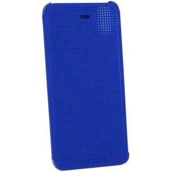 HTC flipové pouzdro Dot View HC M180 pro HTC Desire 626, modrá