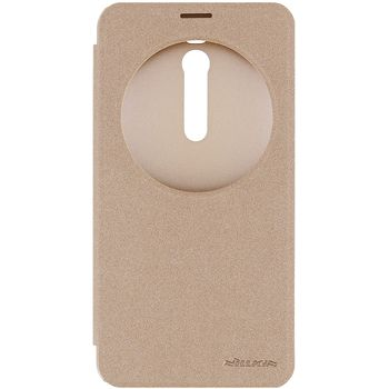 Nillkin pouzdro Sparkle S-View pro ASUS Zenfone 2 ZE551ML, zlaté
