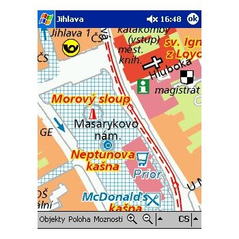 SmartMaps WM+Palm - Jihlava 1:10 000 - 1:100 000 (036)