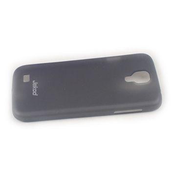 Jekod TPU kryt Ultrathin 0,3mm  pro Samsung i9505 Galaxy S4, černá transparentní