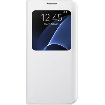 Samsung flipové pouzdro S View EF-CG935PW pro Galaxy S7 edge, bílé