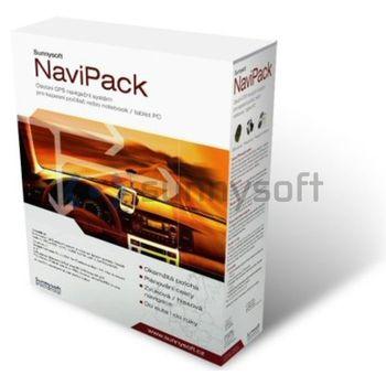 Sunnysoft NaviPack - GPS BT přijímač + mapy + uni-držák na sklo + příslušenství Palm