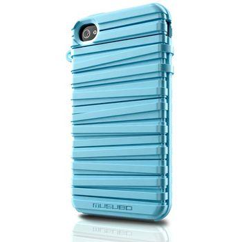 Musubo pouzdro Rubber Band pro Apple iPhone 4/4S - světle modré