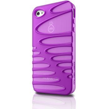 Musubo pouzdro Sexy pro Apple iPhone 4/4S - fialová