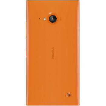 Náhradní díl kryt baterie pro Nokia Lumia 730, oranžový