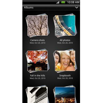 HTC EVO 3D + Krusell pouzdro Coco Pouch - XXL (bílé)