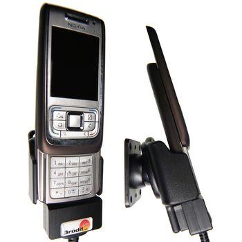 Brodit držák do auta pro Nokia E65 s kabelem CA-27/CA-76 bez nabíjení