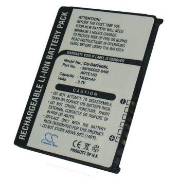 Baterie (ekv. BA-S120) pro HTC P3300 Artemis, O2 XDA Orbit Li-ion 3,7V 1300mAh