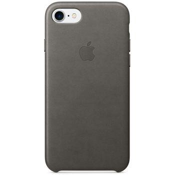 Apple kožený kryt pro iPhone 7, bouřkově šedý
