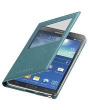Samsung flipové pouzdro S-view EF-CN900BL pro Note 3, mint
