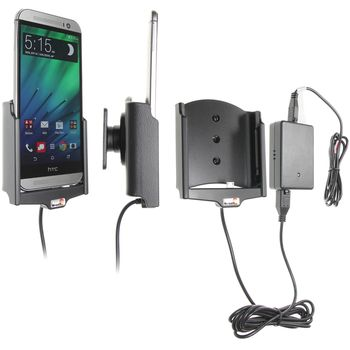 Brodit držák do auta na HTC One M8 bez pouzdra, se skrytým nabíjením
