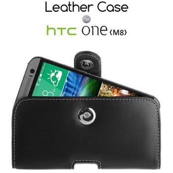 Brando kožené pouzdro pouch pro HTC One M8