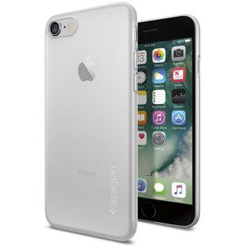 Spigen ochranný kryt Air Skin pro iPhone 7 plus, průhledná
