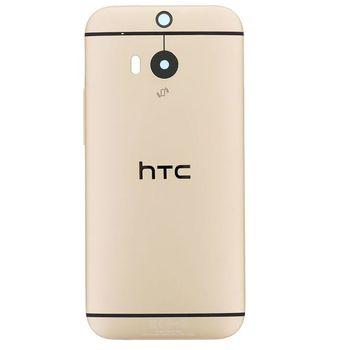 HTC zadní kryt pro ONE M8, zlatý