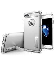 Spigen ochranný kryt Slim Armor pro iPhone 7 plus, stříbrná