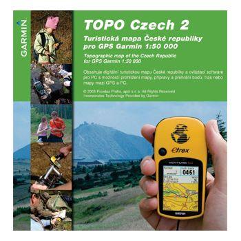 Garmin mapa Česká republika TOPO Czech v2