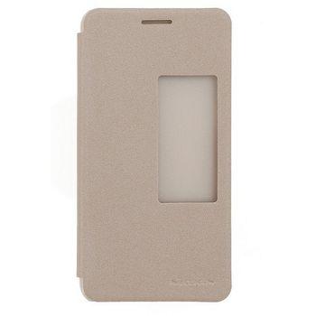 Nillkin flipové pouzdro Sparkle Folio pro Huawei Honor 6, zlaté