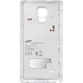 Samsung zadní kryt s bezdrátovým nabíjením EP-CN915IW pro Galaxy Note Edge, bílý