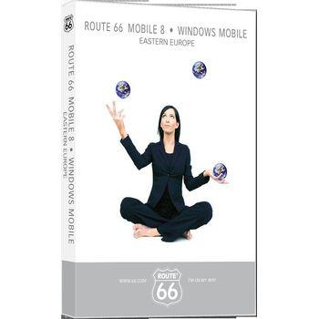 ROUTE 66 Mobile 8 WMS západní Evropa (DVD-ROM)